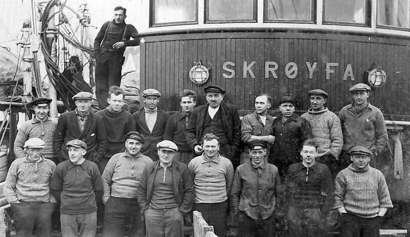 Skulebesøk d Skrøyfa ca 1930 Arkiv