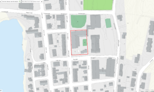 Vardø barneskole kart