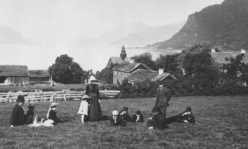 Sjøbruksmuseet opnar D Stangvik c 1890 Fam Ebbesen