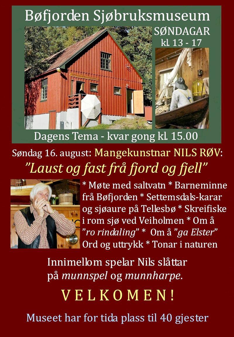 2020 08 16 Plakat Sjøbruksmuseet