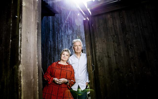 foto av Randi Kveine og Gisle Erlien