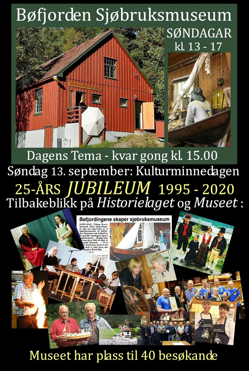 2020 09 13 Museet Plakat
