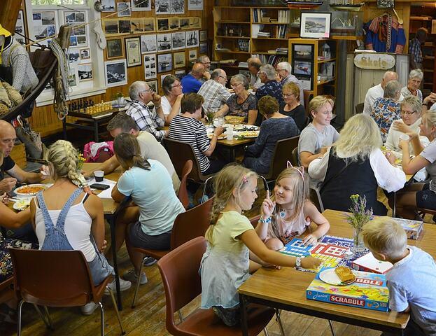 Bøfjorden Sjøbruksmuseum har i snitt hatt over 50 søndagsbesøkande i 25 år. (Foto: Bernt G. Bøe)