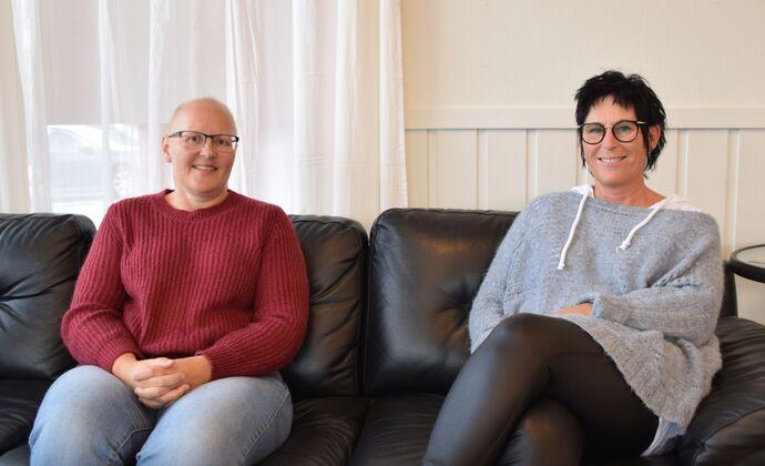 Bettina Røen Helgetun og Anni Karlstrøm