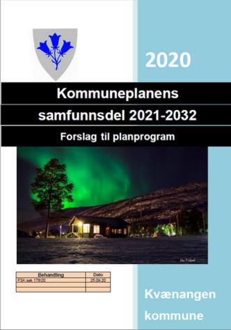 Forside planprogram samfunnsplan