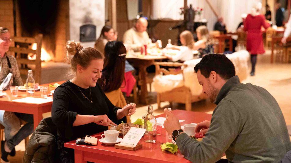 Innflyttertreffet ble holdt for i overkant 50 deltakere på Prøysenhuset