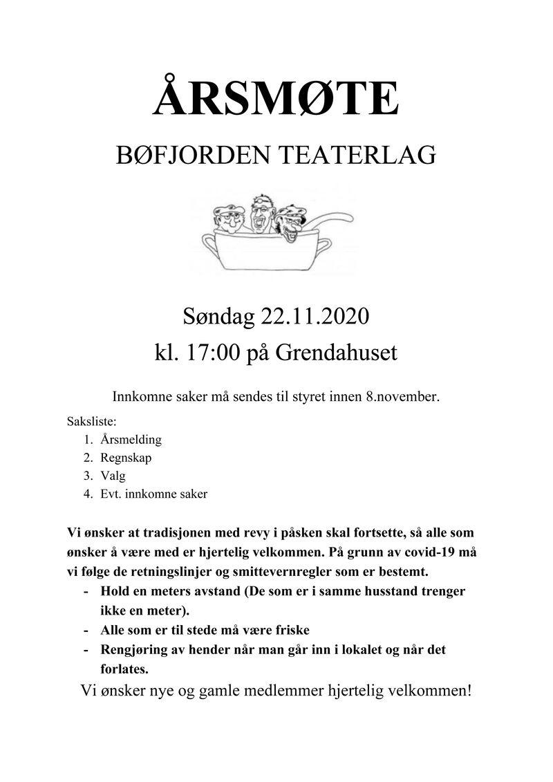 Årsmøte Teaterlaget - Plakat-1