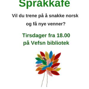 språkkafé tirsdager fra kl 18