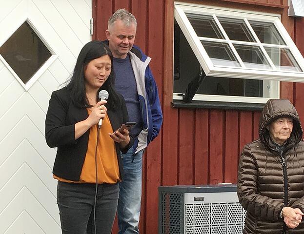 Sarang 02 Maria og Ingebrigt og Inger