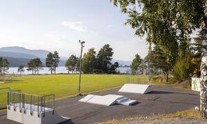 Kyrkjebygda oppvekstsenter - skatepark