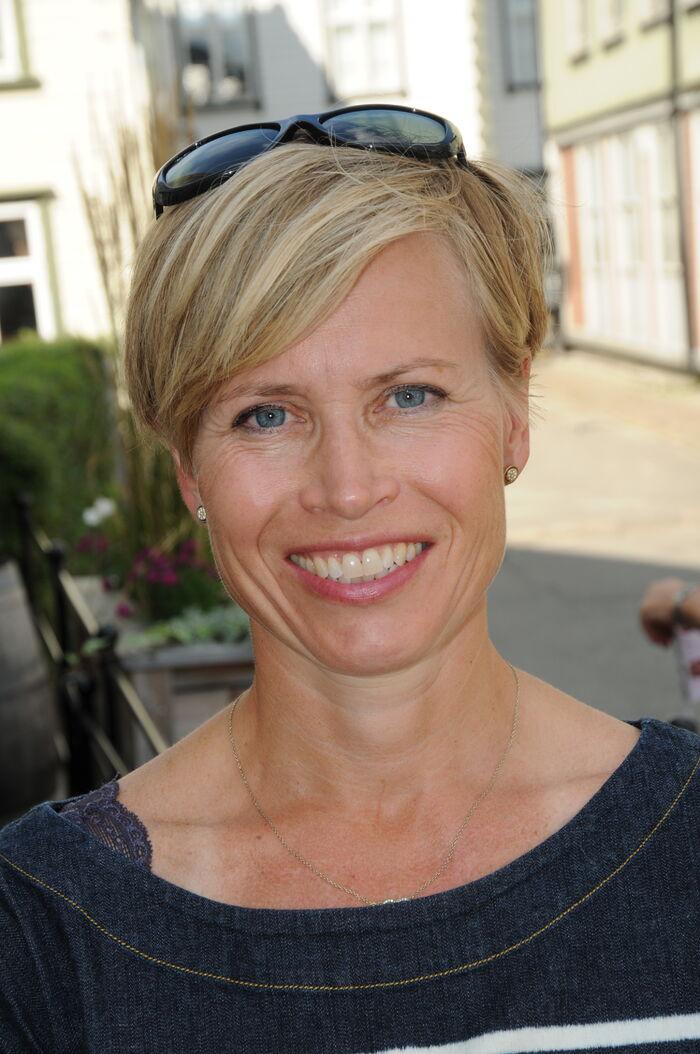 TILRETTELEGGE. Prosjektleder Johanne Dahll Fossen vil legge forholdene til rette for bedre digitale møter. Foto. Tor Slette Johansen