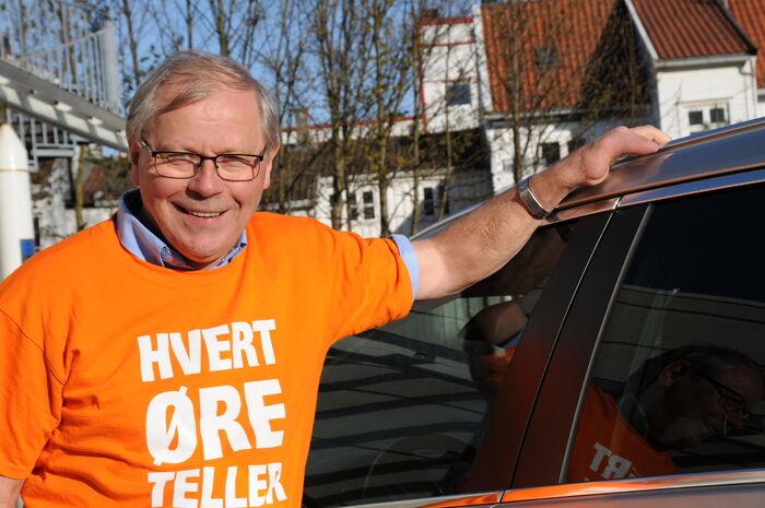 IKKE BRA. Utvalgsleder Bjørn Jonassen etterlyser en koordinert innsats for eleven der de bor. Foto. Tor Slette Johansen