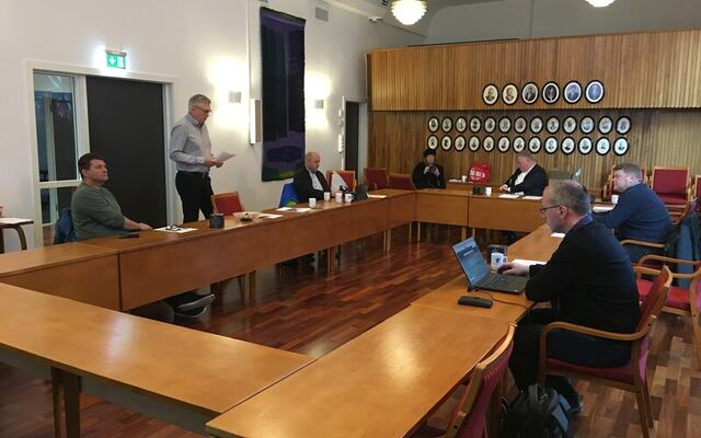 Rådsmøte Høyanger 11