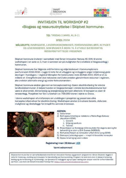 2021-03-02 Invitasjon Workshop Bilde