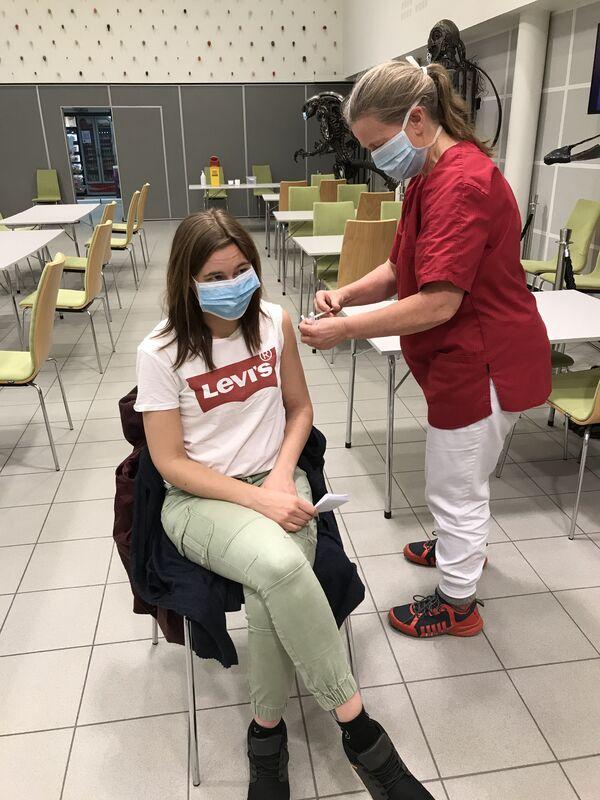 Vaksinering av helsepersonell