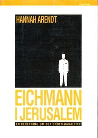 Forside Eichmann i Jerusalem