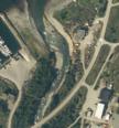 Flyfoto nedre del av Badderelva