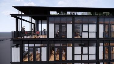 Bilde av tomteprosjektet City360 i Ringsaker kommune