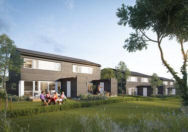 Bilde av tomteprosjektet Damhagen i Ringsaker kommune