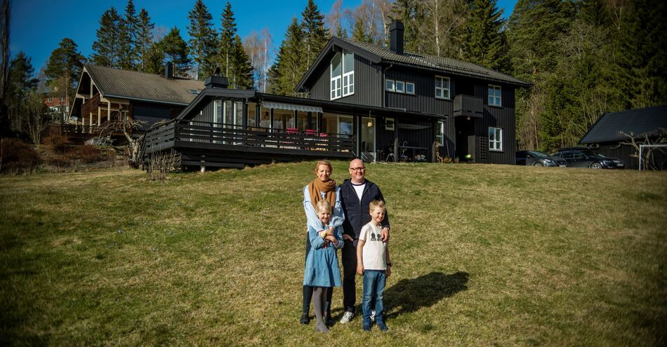 Familien fant drømmehuset i Brumunddal