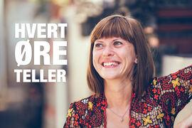 HVERT ØRE TELLER. HLF ønsker å løfte frem gode historier fra høreapparatbrukere under årets HØT-kampanje.