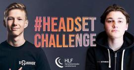 GULLKAMPANJEN. Fjorårets digitale HØT-kampanje #Headset Challenge er tildelt to gullmedaljer i Gulltaggen for fjorårets beste markedsføringskampanjer.