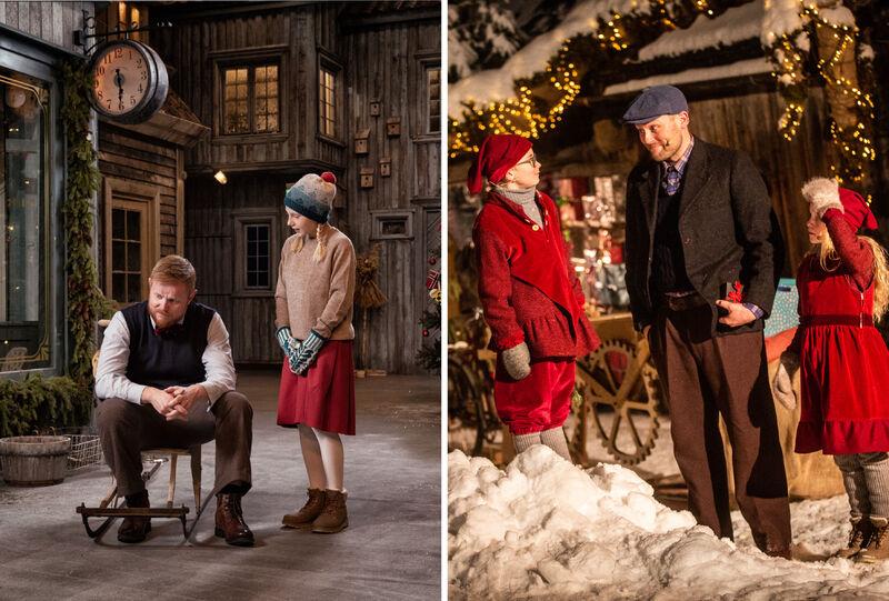 Teater, Prøysenhuset, Den vesle bygda som glømte at det var jul, Snekker Andersen og Julenissen