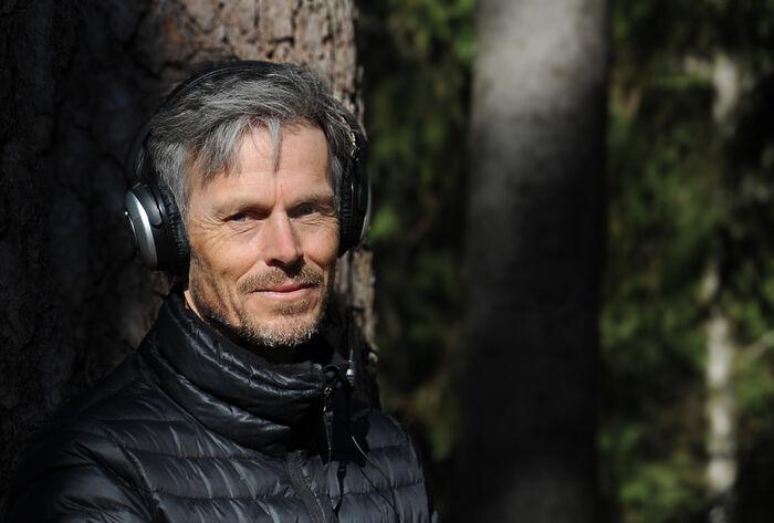 FORSKER. Folkehelseinstituttets Bo Engdahl forsker på hørsel. Foto Marianne Otterdahl-Jensen.