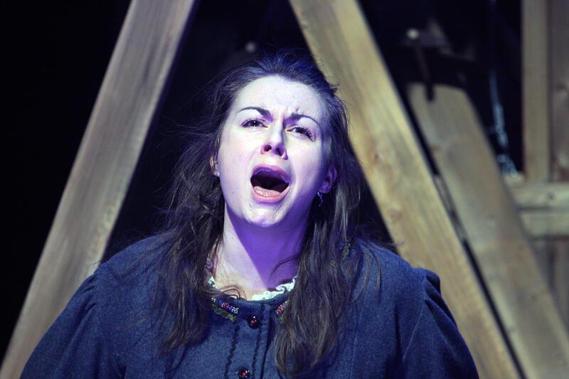 GULLJENTE: Sigrid Vetleseter Bøe blir igjen å høre i rolla som Ingrid, inspirert av Ingrid Sjølseth frå Øksendalen.