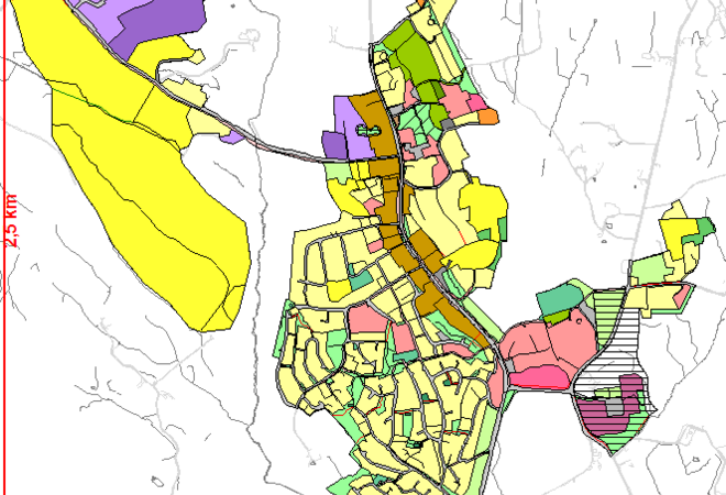 Planforslag sentrumsplan