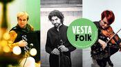 Ranghild Furebotn Trio - med VestaFolk-logo
