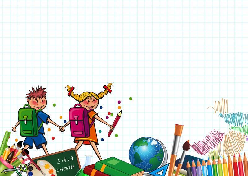 school-pupils-children-board-crayons-school-bags-education-learning-knowledge-school-enrolment-school-start-colorful-homework-cartoon-art-play-illustration-recreation-fictional-character-fun-tree-graphic-design-gra