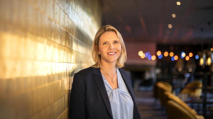 OPPFØLGING. Sylvi Listhaug og Fremskrittspartiet vil ha barnekoordinatorer for syns- og hørselshemmede elever der elevene bor. Foto. Frp