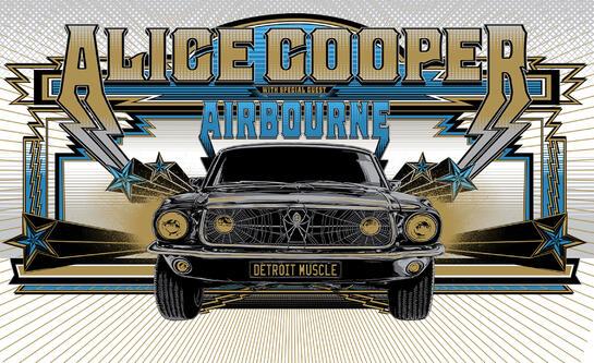 Alice Cooper - gammel nettside
