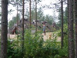 Kierikki, Finland,Stone Age,Oulu,Stone Age Centre