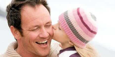Pappa kyss