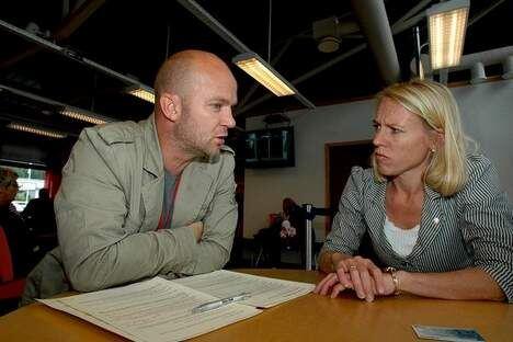 Fredrik Steen og Anniken Huitfeldt 2009